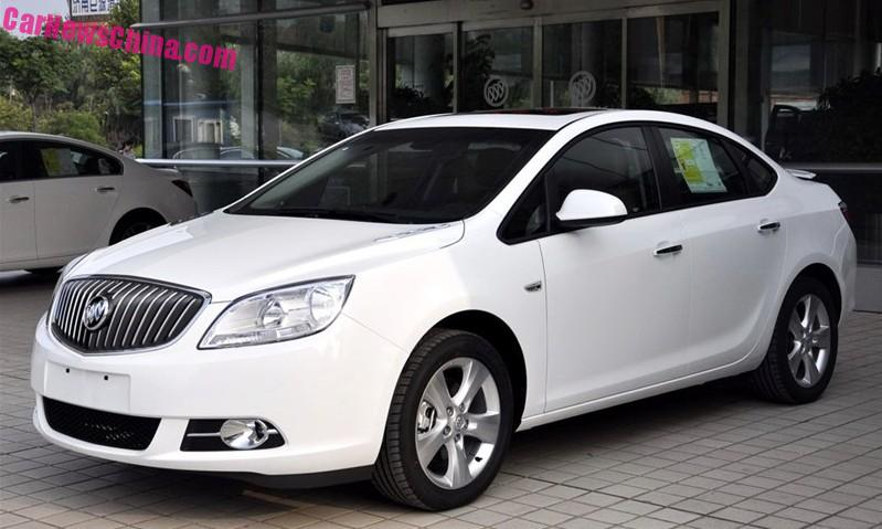 New Buick Excelle GT launched on the Chinese car market ...