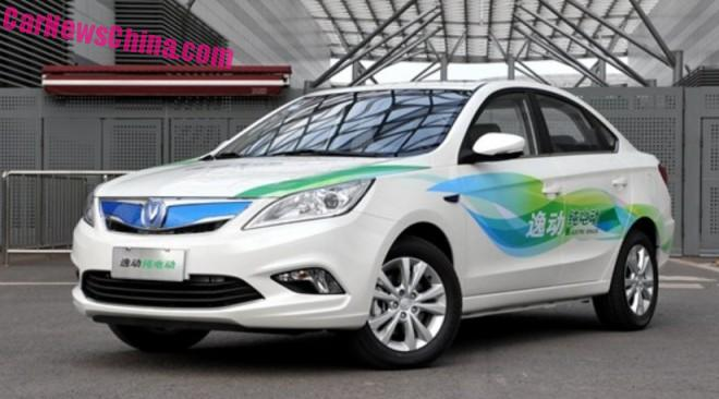 Changan Eado EV hits the Chinese car market