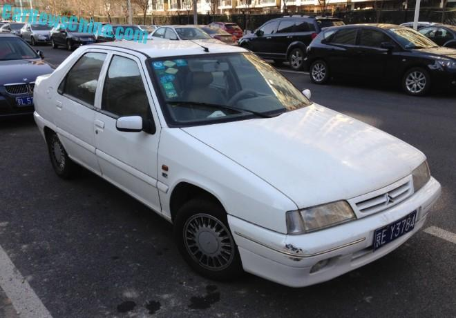 Spotted in China: the Citroen ZX Fukang 988 EX sedan