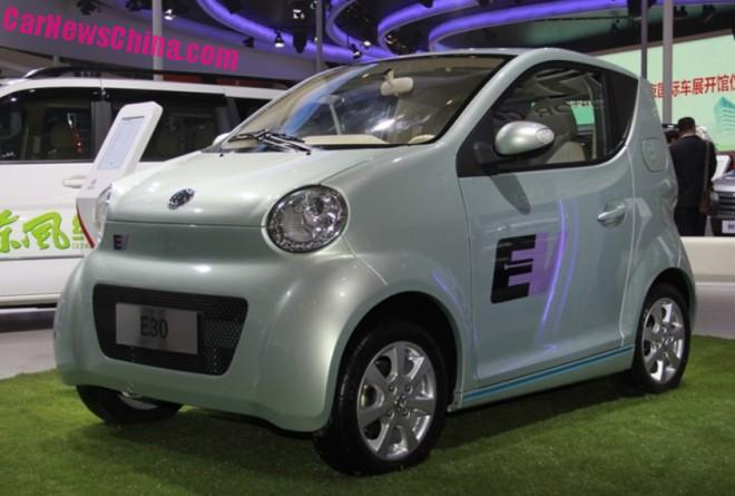Dongfeng Fengshen E30 & E30L EV's launched in China