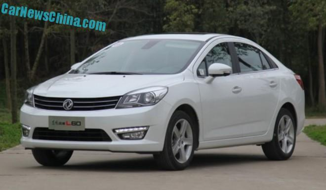 Dongfeng Fengshen L60 launched on the Chinese car market