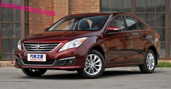 Dongfeng Fengxing Jingyi S50 to get a French 2.0 in China