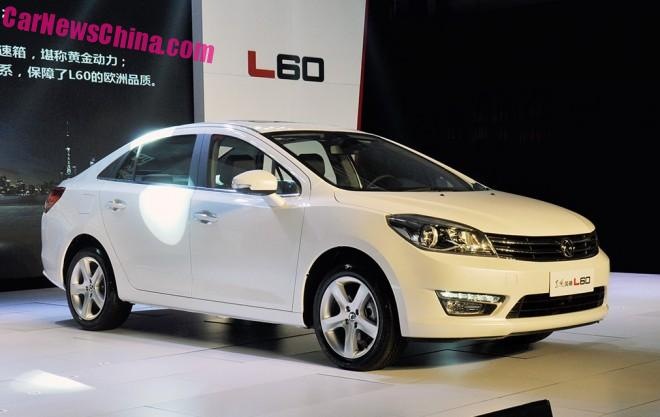 Dongfeng Fengshen L60 sedan debuts in China