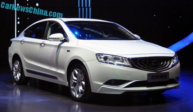 Geely Borui GC9 will hit the Chinese car market on April 9