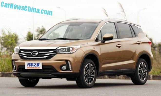 The Guangzhou Auto Trumpchi GS4 SUV is ready for China