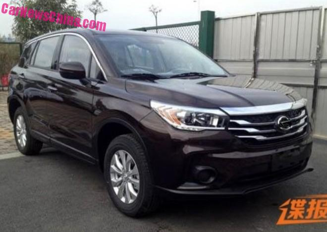 Spy Shots: Guangzhou Auto Trumpchi GS4 SUV is Naked in China