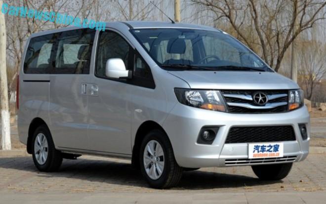 JAC Refine M3 MPV hits the Chinese car market