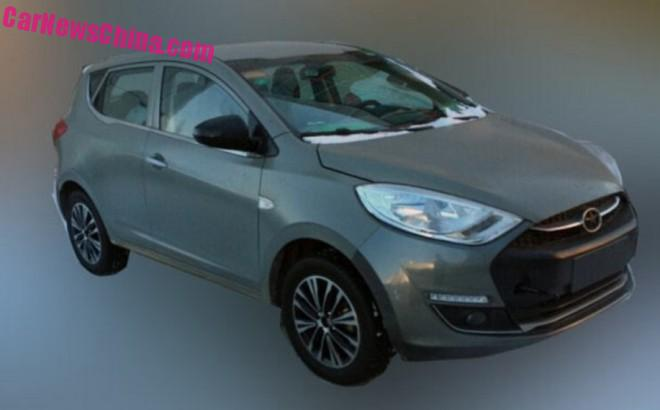 Spy Shots: JAC Refine S2 is Naked in China