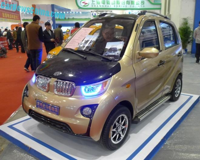Shandong EV Expo in China: the Jinma JMW2200