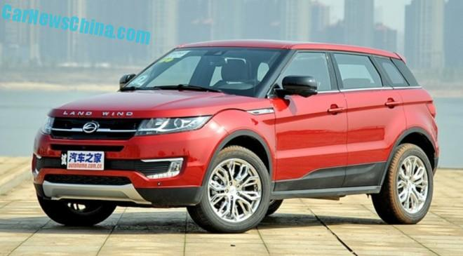 Landwind X7 will launch on the Chinese car market in June