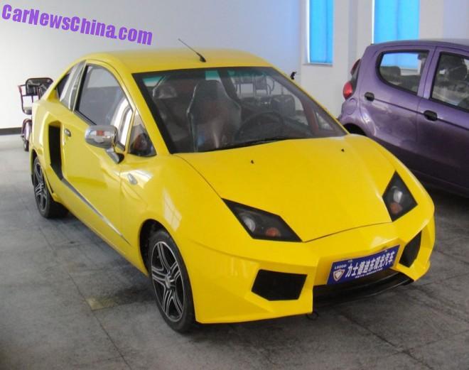 The Lishidedidong Urban Supercar EV is NOT a Lamborghini in China