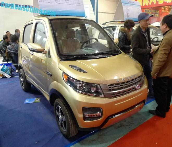 Shandong EV Expo in China:  the Longer Yuelang X1 EV is not a Range Rover