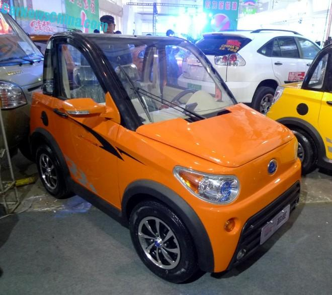Shandong EV Expo in China: the Lutom Chaowei