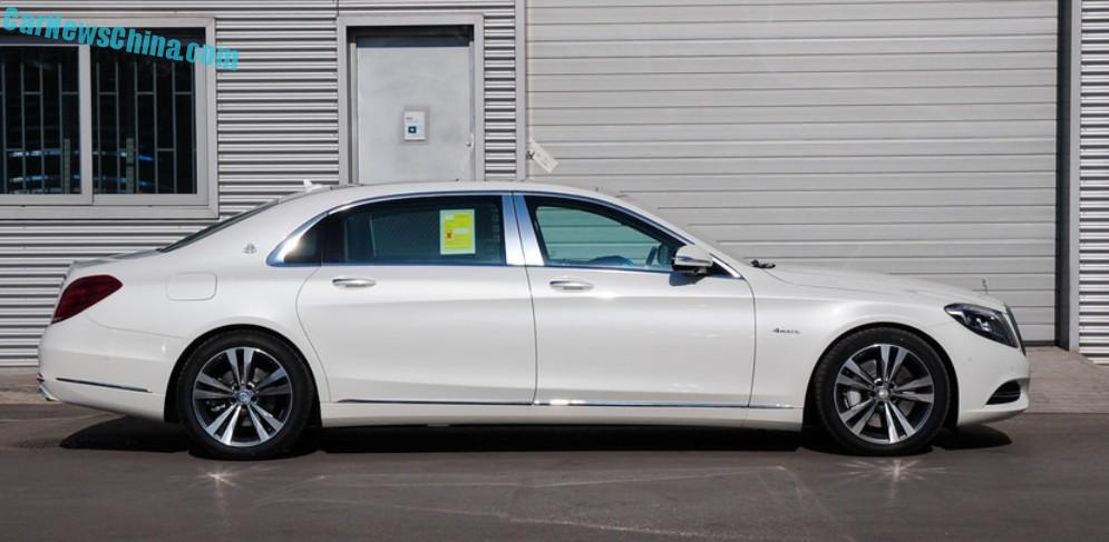 what about a mercedes-maybach s400 4matic in white? - carnewschina