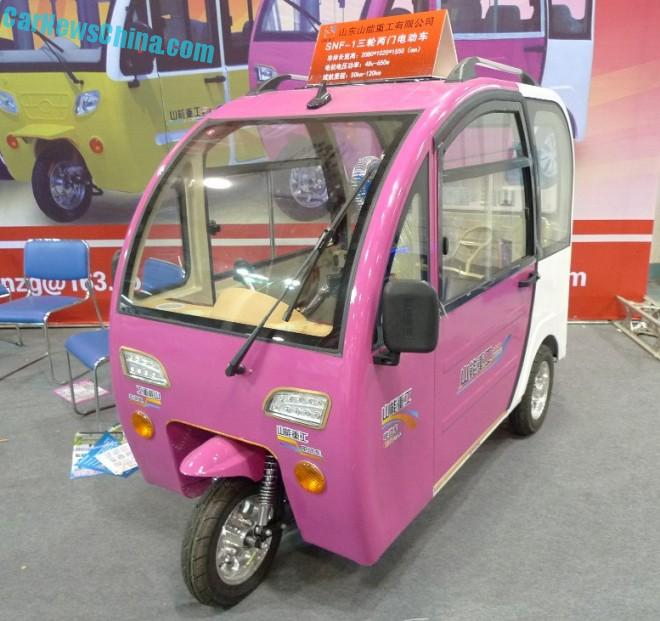 Shandong EV Expo in China: the Shandong Shanneng SNF-1