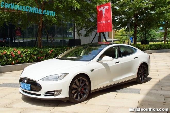 Tesla included in Shenzhen EV license program