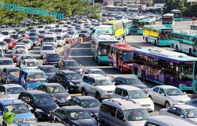 Shenzhen to Limit the Number of new Cars