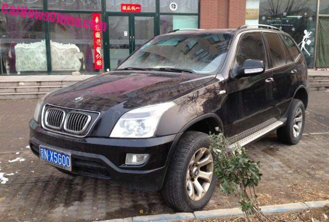 Shuanghuan SCEO is Not a BMW X5 with a License in China