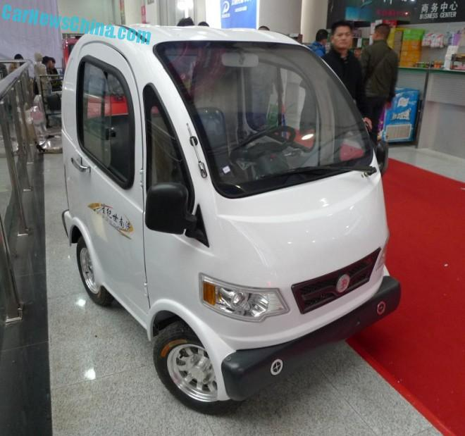 Shandong EV Expo in China: the Sikixing M1 & M4