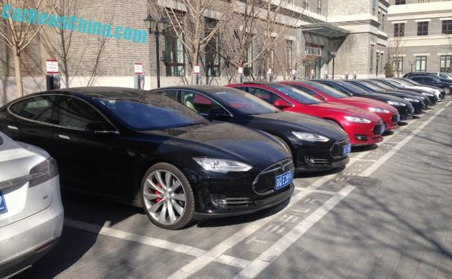 Tesla China sits on a Record Unsold Inventory of 2301 cars