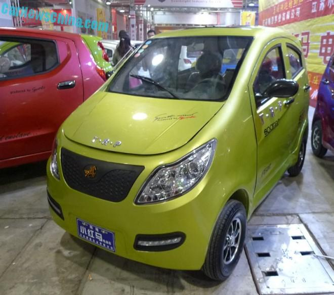 Shandong EV Expo in China: the T·R·P New Horse S5