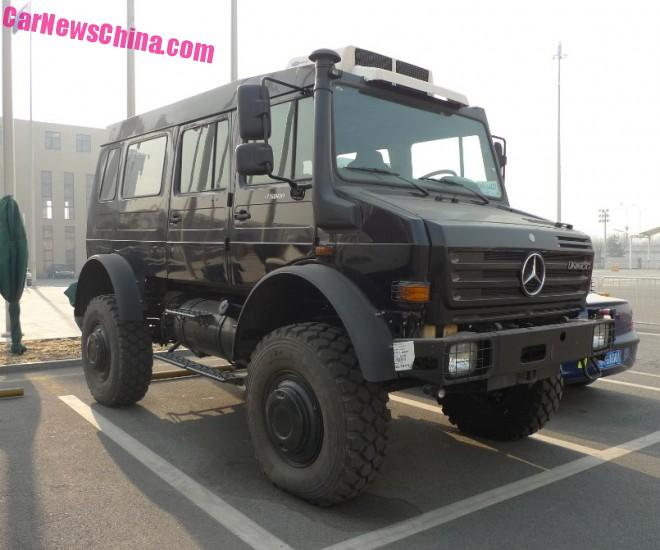 Spotted in China: the Unimog 500 is the biggest SUV in the world