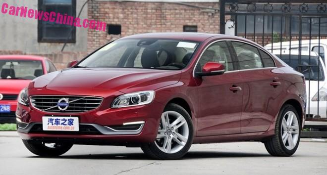 Volvo S60L to get three-cylinder turbo power in China