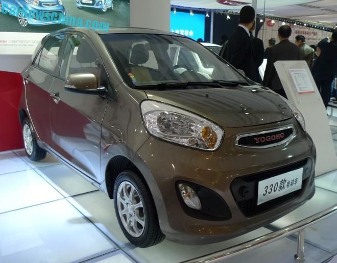 China's Yogomo clones the Kia Picanto for a new Electric Car