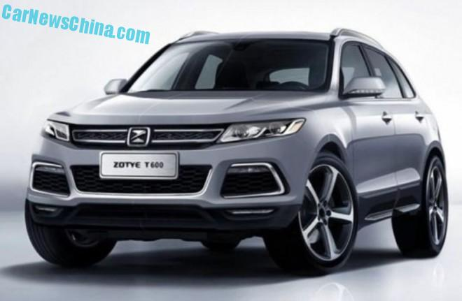 Officially Official: the Zotye T600 Sport SUV for China