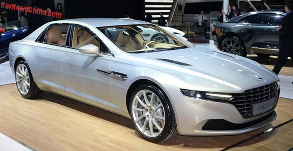 Aston Martin Lagonda Taraf Hits The Shanghai Auto Show In China