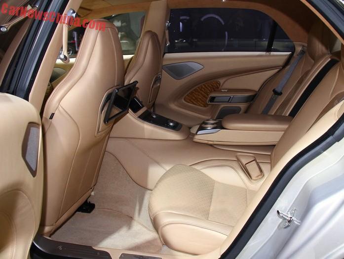 Aston Martin Lagonda Taraf Hits The Shanghai Auto Show In China Carnewschina Com