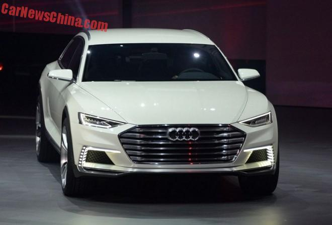 Audi Prologue Allroad Concept launched on the Shanghai Auto Show in China