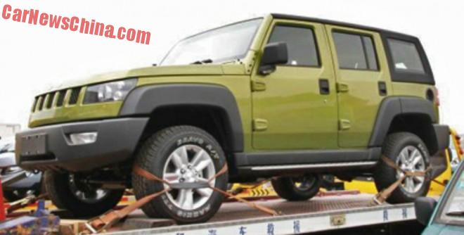 Beijing Auto BJ40L arrives at the Shanghai Auto Show