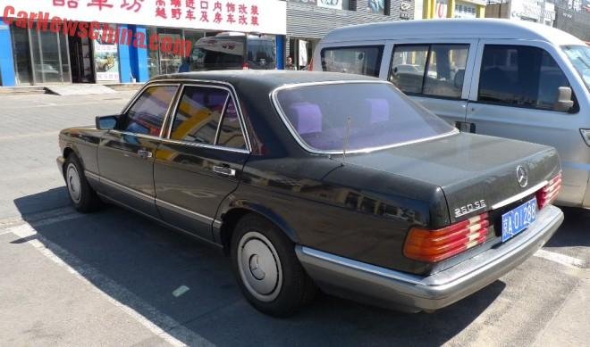 Spotted in china w126 mercedes benz 260 se for Mercedes benz 260