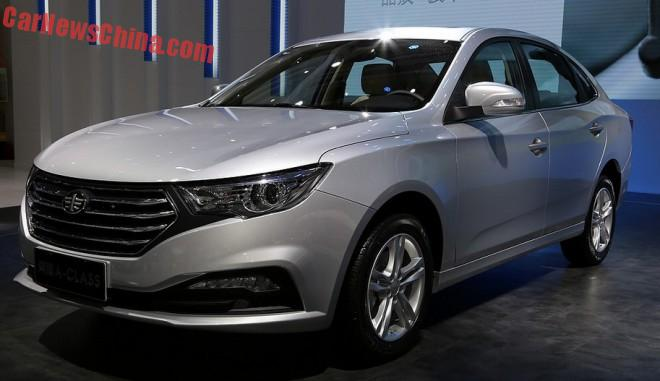 FAW Besturn A-Class Concept launched on the Shanghai Auto Show