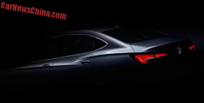 2016 Buick Verano for China will debut on the Shanghai Auto Show