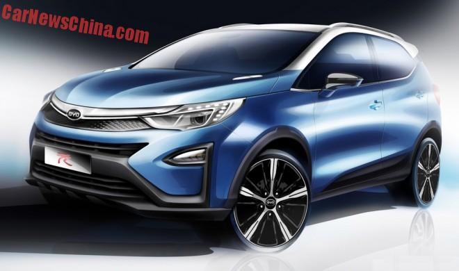 First images of the BYD Yuan and BYD Song for the Shanghai Auto Show