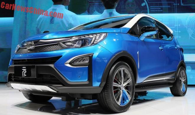 BYD Yuan SUV debuts on the Shanghai Auto Show in China