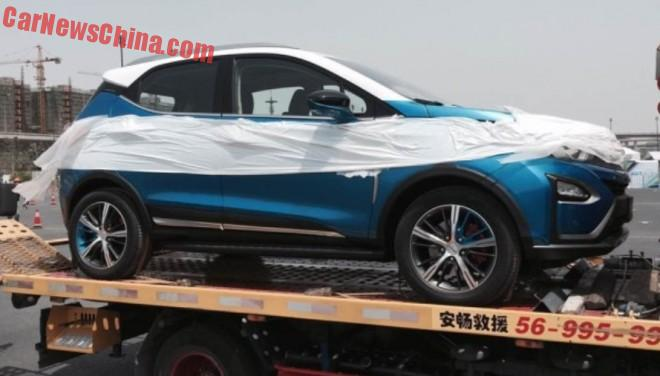 First Live Shots of the BYD Yuan SUV for the Shanghai Auto Show