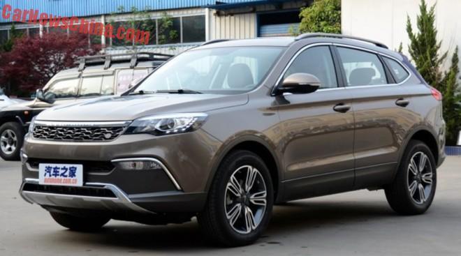 Changfeng Liebao CS10 SUV hits the Chinese car market