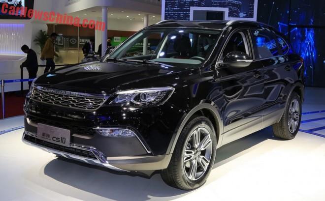 Changfeng Liebao CS10 SUV debuts on the Shanghai Auto Show