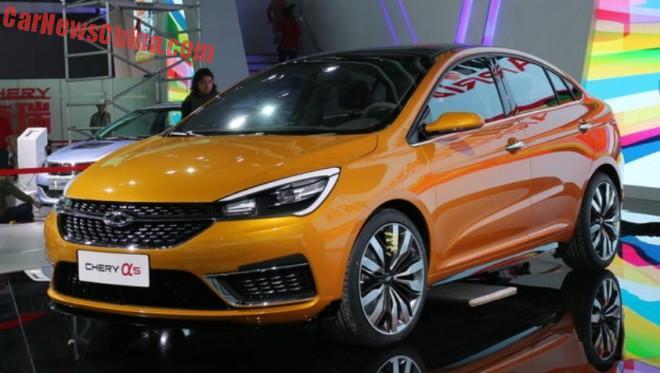 Chery Alpha 5 concept unveiled on the Shanghai Auto Show