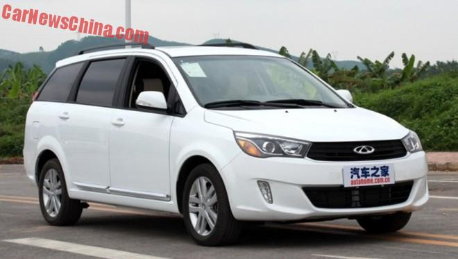 The Chery Arrizo M7 MPV is Ready for the Chinese car market