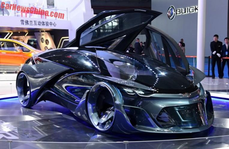 Chevrolet FNR Concept Dazzles The Shanghai Auto Show In China - Concept car show