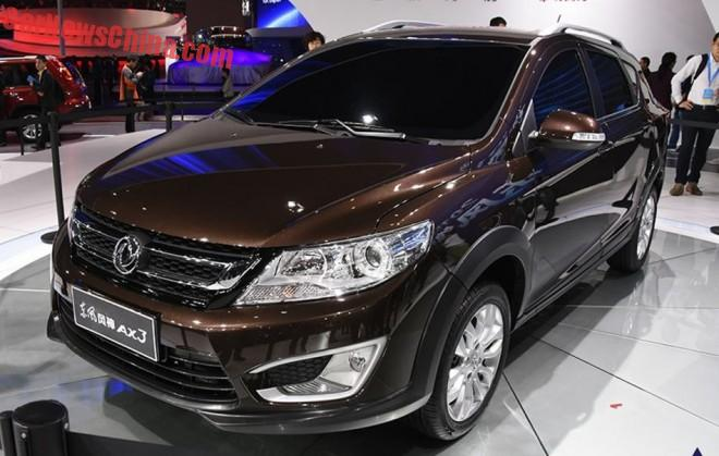 Dongfeng Fengshen AX3 unveiled on the Shanghai Auto Show