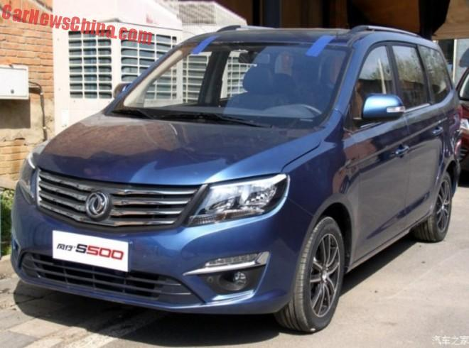Dongfeng Fengxing S500 MPV is Ready for the Shanghai Auto Show