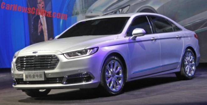 All-New 2016 Ford Taurus debuts in China