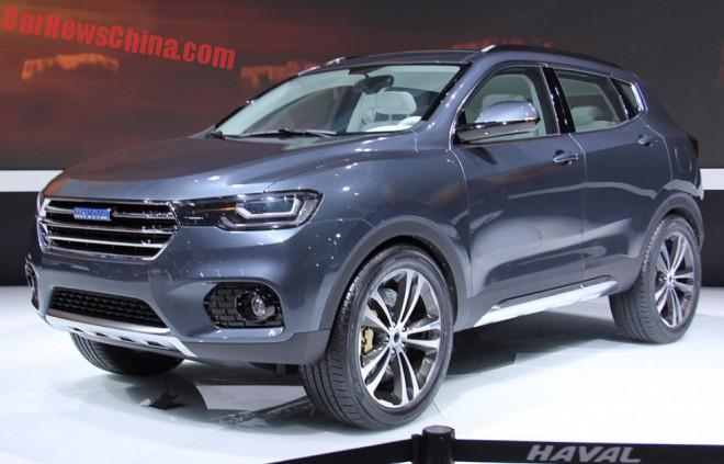 Haval Concept B hits the Shanghai Auto Show in China