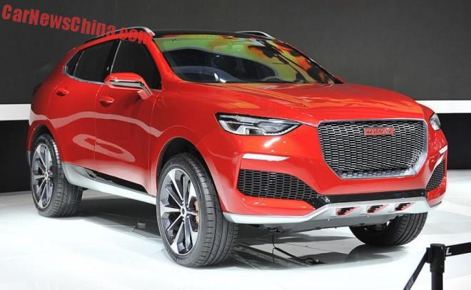 Haval Concept R hits the Shanghai Auto Show in China