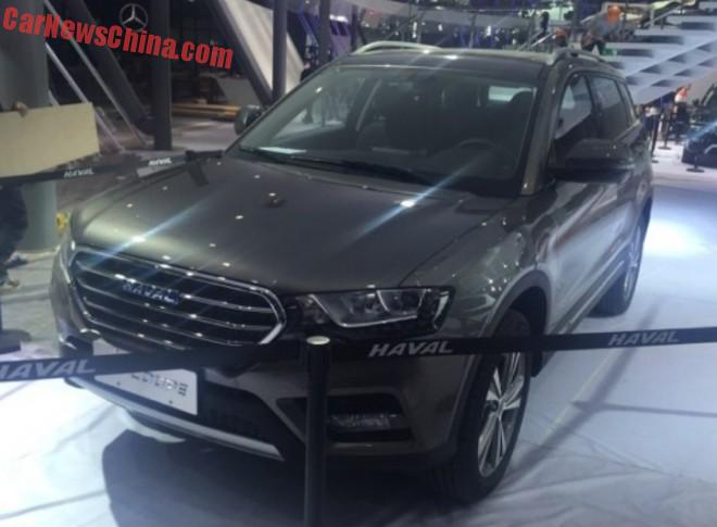 First Photos of the Haval H6 Coupe for the Shanghai Auto Show